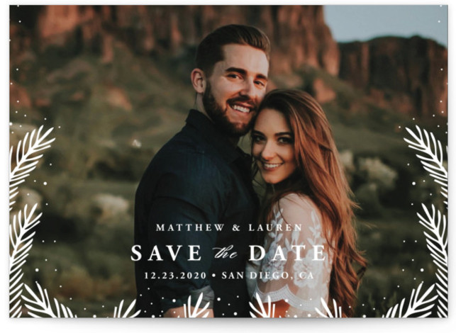 Winter's Dream Save the Dates