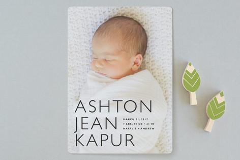 Baby Mine Birth Announcements