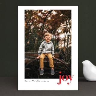 Spot of Joy Holiday Photo Cards