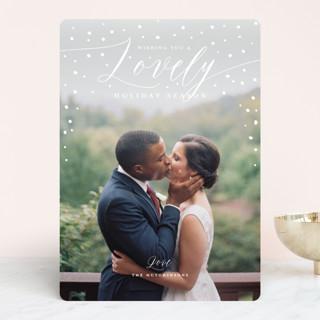 lovely season Holiday Photo Cards
