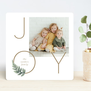 Laurel Ring Holiday Photo Cards