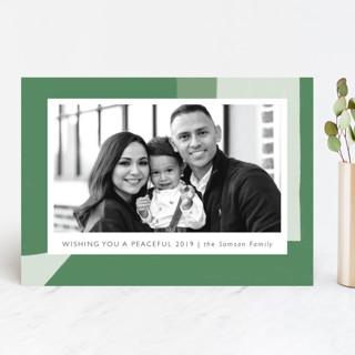 Holiday Shapes Holiday Photo Cards