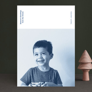 Newsprint Holiday Photo Cards