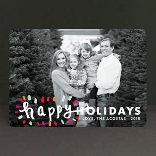 Holiday Burst Holiday Photo Cards
