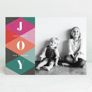 Argyle Holiday Photo Cards