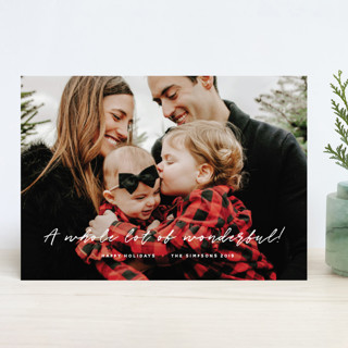 Lots of Wonderful Holiday Photo Cards