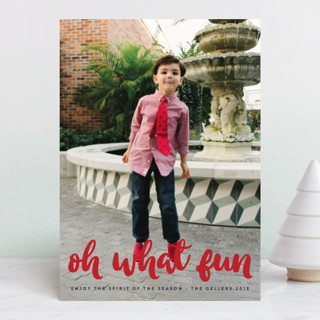 what fun! Holiday Photo Cards