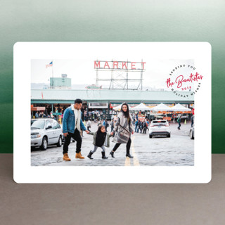 Holiday Stamp Holiday Photo Cards