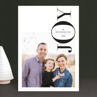 Layered Joy Holiday Photo Cards