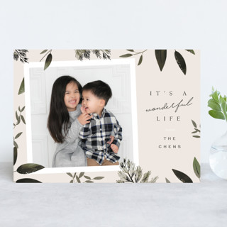 Winters Day Holiday Photo Cards