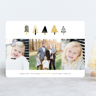Tiny Trees Holiday Photo Cards