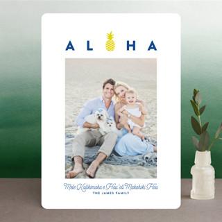 aloha kalikimaka Holiday Photo Cards