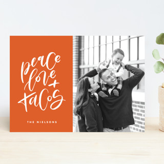 Because Tacos Holiday Photo Cards