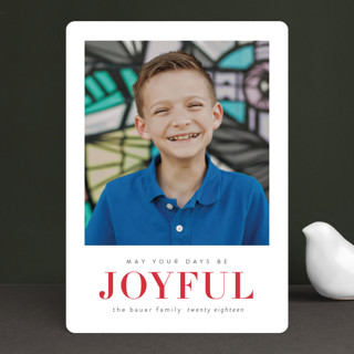 May Your Days Be Merry Holiday Photo Cards