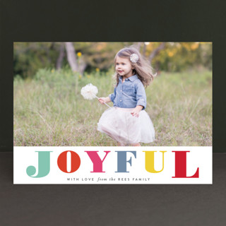 color story Holiday Photo Cards