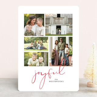 High Five Holiday Photo Cards