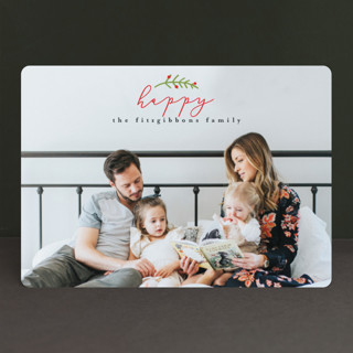 Merrier Than Ever Holiday Photo Cards