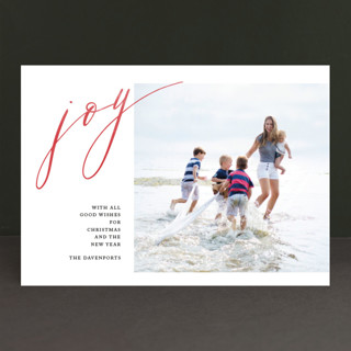Unbridled Joy Holiday Photo Cards