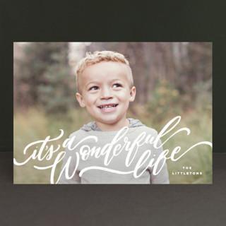A Sweet + Wonderful Life Holiday Photo Cards