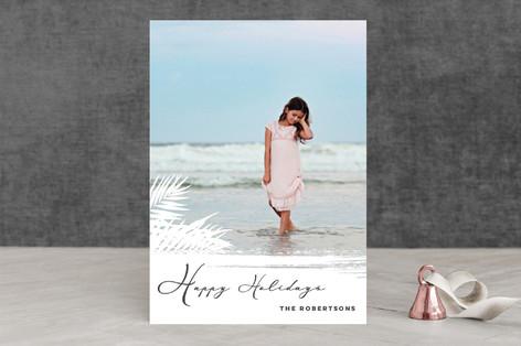 Beach Holidays Holiday Photo Cards