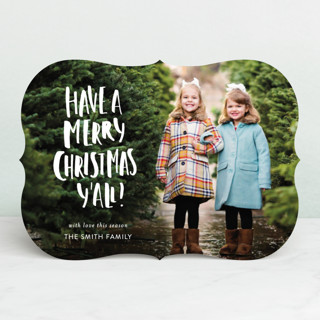 Merry Merry Y'all Holiday Photo Cards