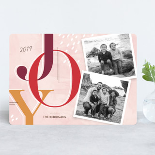Journaled Holiday Photo Cards