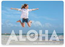 Spirit of Aloha Holiday Photo Cards