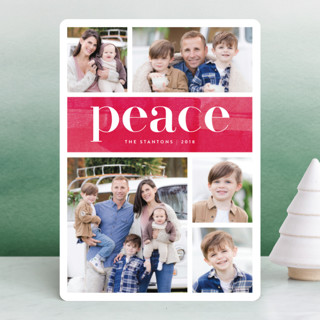 Bright Merry Holiday Photo Cards