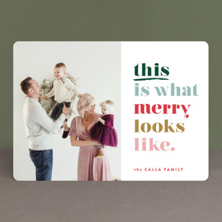 this is merry Holiday Photo Cards