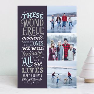 Wonderful Moments Holiday Photo Cards