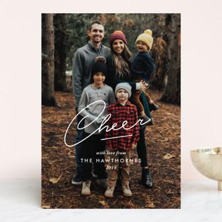 cheer at the heart Holiday Photo Cards
