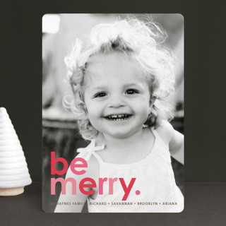 Cherry Merry Holiday Photo Cards