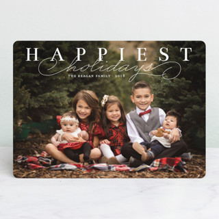 Happiest Classic Holiday Photo Cards