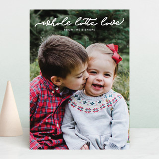 whole lotta love Holiday Photo Cards