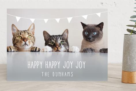 Bunting Holiday Holiday Photo Cards