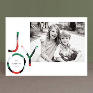 jolly colors Holiday Photo Cards