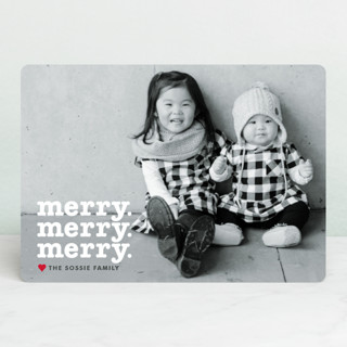 Merry Times 3 Holiday Photo Cards