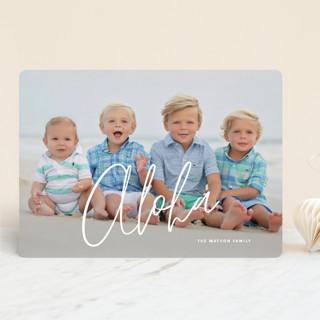 island greetings Holiday Photo Cards