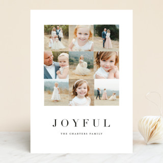 Squared Holiday Photo Cards