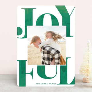 fanfare Holiday Photo Cards