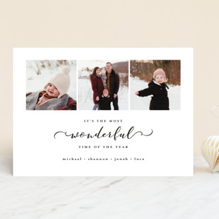Most Wonderful Time of the Year Holiday Photo Cards