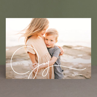 Glaze Holiday Photo Cards