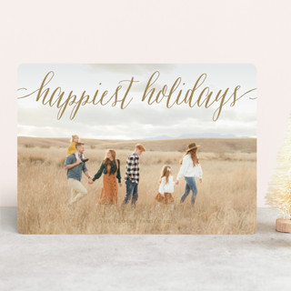 Pure Happy Holiday Photo Cards