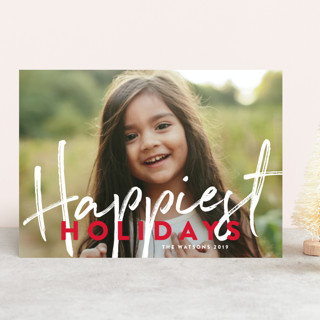 Banner Happy Holiday Photo Cards