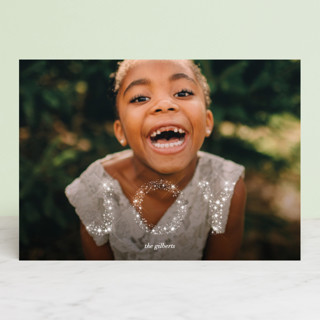 Glow and Glimmer Holiday Photo Cards