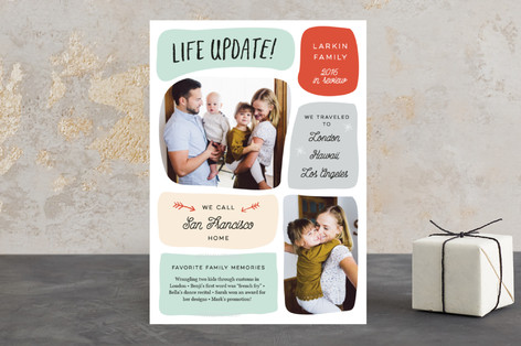 Life Update Holiday Photo Cards