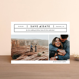 Cinematic Save the Date Petite Cards