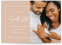 Eloquent Save the Date Petite Cards