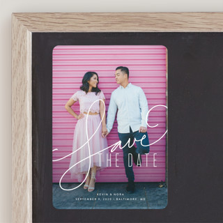 Signature Save The Date Magnets