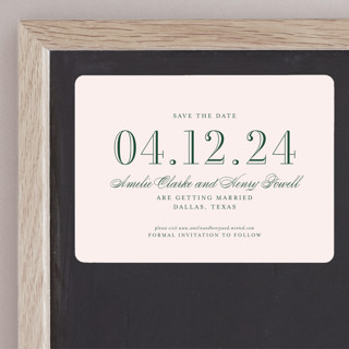 Hepburn Save The Date Magnets